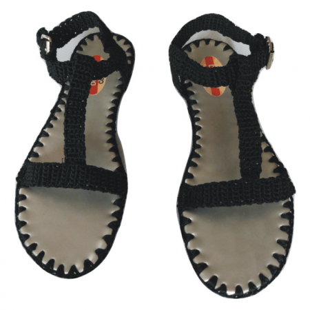 Ladies Smart Sandals Crochet