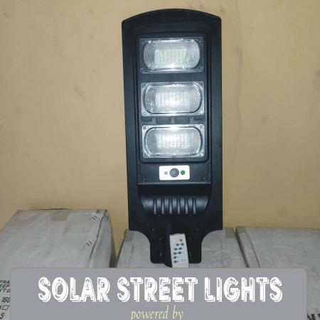 90 Watts LED Solar Lamps