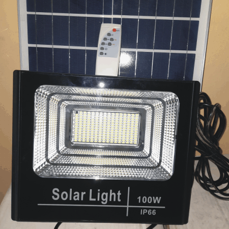 100 Watts LED Solar Lamps
