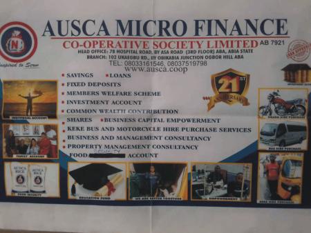 AUSCA Micro Finance