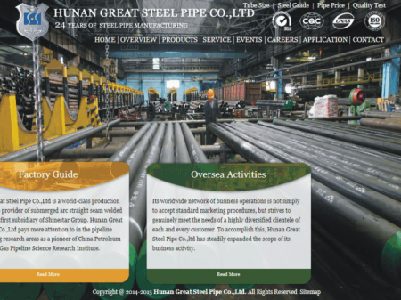 HUNAN GREAT STEEL