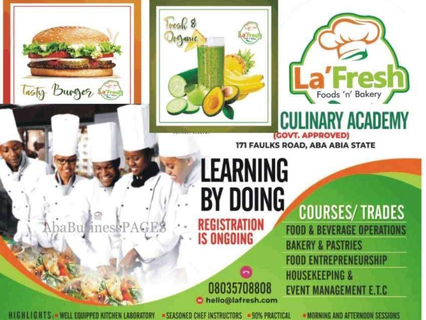 LA'FRESH Culinary Academy