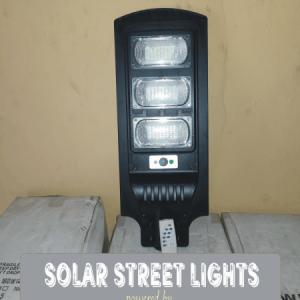 120 Watts LED Solar Lamps